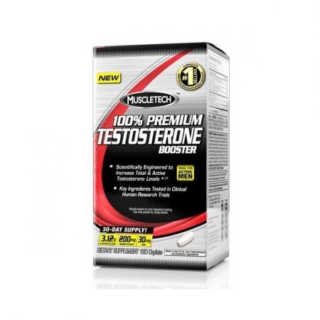 Muscletech Premium Testosterone Booster, 120 каплет