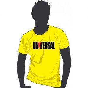 Футболка Universal Nutrition желтая