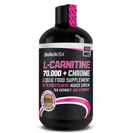 Biotech L-Carnitine 70000 + Chrome, 500 мл