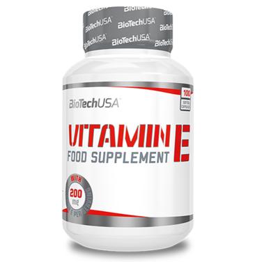 Biotech Vitamin E, 100 капсул