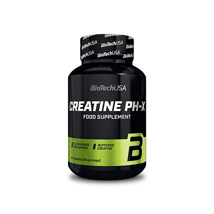 Biotech Creatine PH-X, 90 капсул