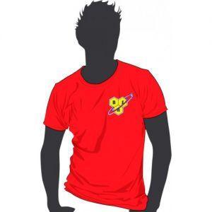 Футболка BSN красная