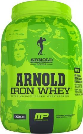 Arnold Iron Whey, 900 грамм