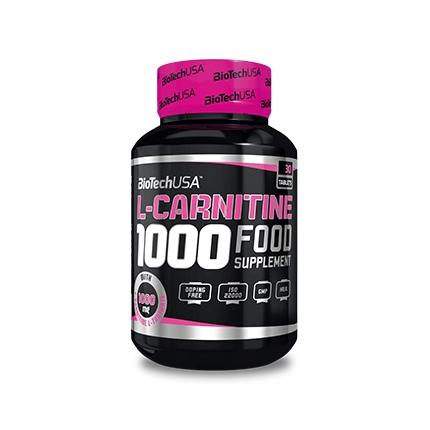 Biotech L-Carnitine 1000 mg, 30 таблеток