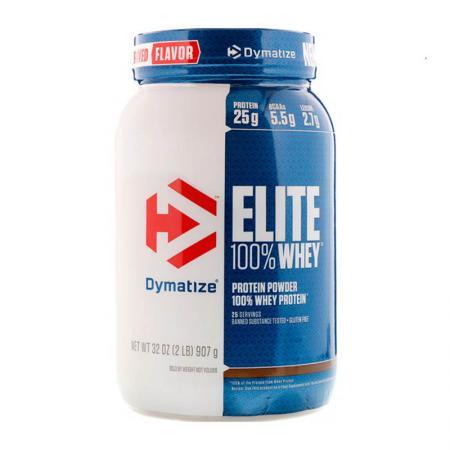 Dymatize Elite 100% Whey Protein, 908 грамм