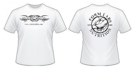 Футболка Form Labs, белая
