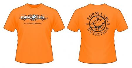 Футболка Form Labs, оранжевая