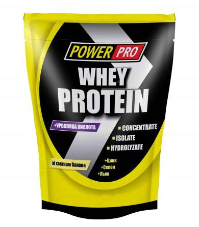 Power Pro Whey Protein, 1 кг