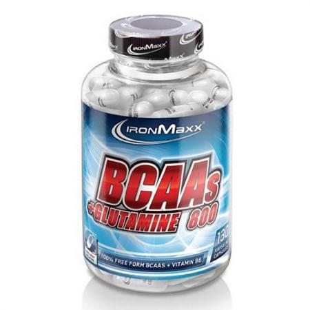 Ironmaxx BCAA+Glutamine 800, 130 капсул