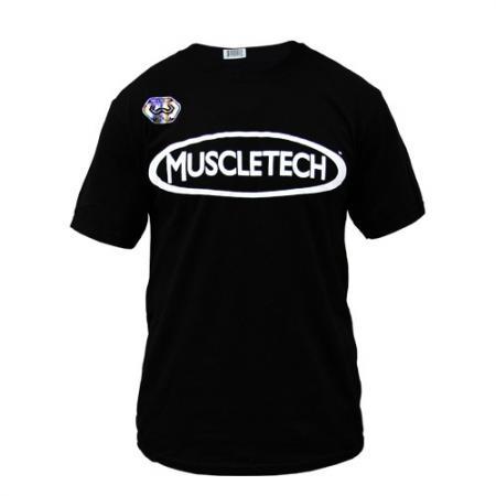 Футболка Muscletech черная V.2