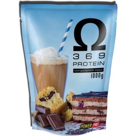 Power Pro Omega 3 6 9 Protein, 1 кг - миндальный кекс