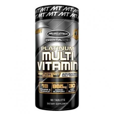 Muscletech Platinum Multi Vitamin, 90 каплет