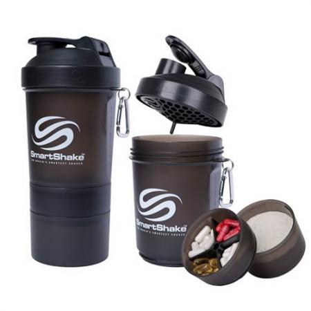 Smart Shake, 400 мл - черный