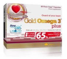 Olimp Gold Omega 3 Plus 65%, 60 капсул