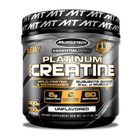 Muscletech Platinum 100% Creatine, 400 грамм