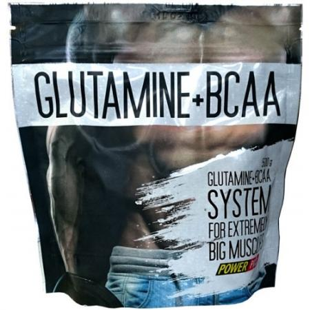 Power Pro Glutamine + ВСАА, 500 грамм