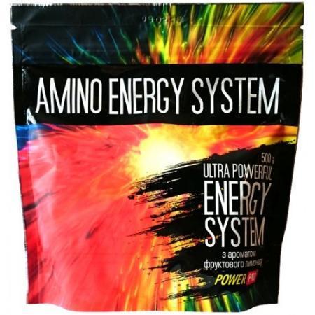 Power Pro Amino Energy System, 500 грамм - фруктовый лимонад