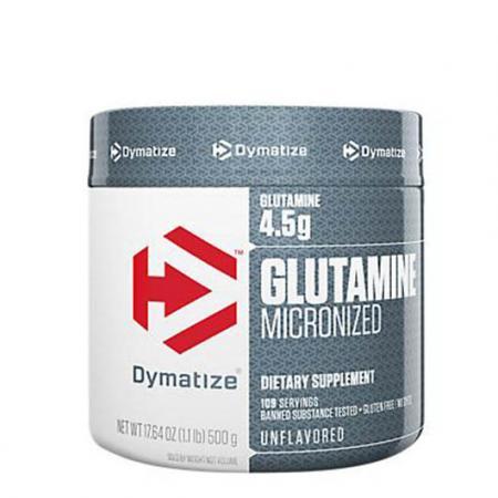 Dymatize Glutamine Micronized, 500 грамм
