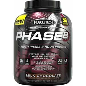 Muscletech Phase 8 Protein, 2 кг