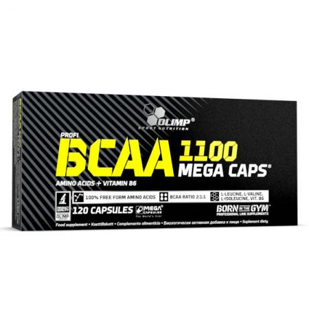 Olimp BCAA Mega Caps, 120 капсул