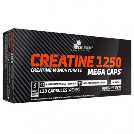 Olimp Creatine 1250 Mega Caps, 120 капсул
