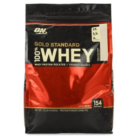 Optimum Gold Standard 100% Whey, 4.5 кг