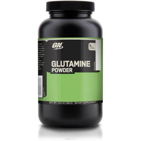 Optimum Glutamine Powder, 300 грамм