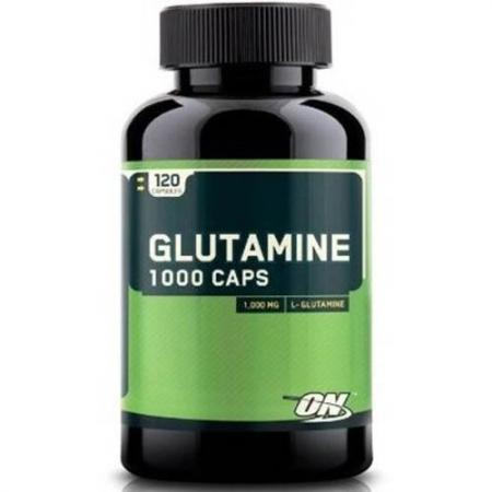 Optimum Glutamine 1000, 120 капсул