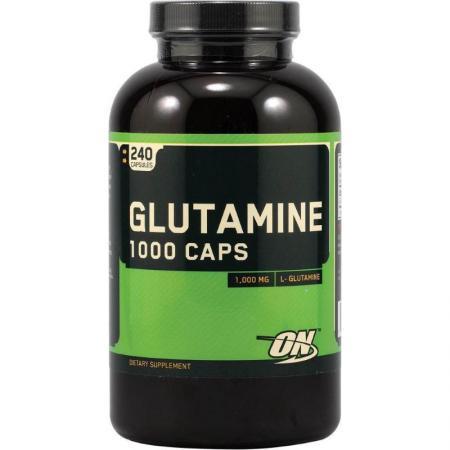 Optimum Glutamine 1000, 240 капсул