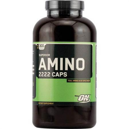 Optimum Superior Amino 2222, 300 капсул