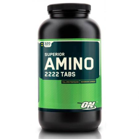 Optimum Superior Amino 2222, 320 таблеток