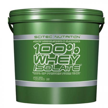 Scitec 100% Whey Isolate, 4 кг