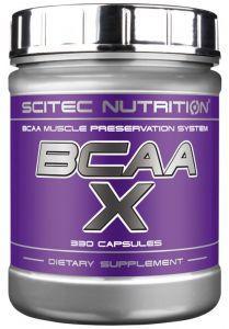 Scitec Nutrition BCAA X, 330 капс