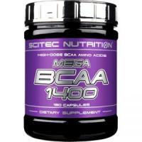 Scitec Mega BCAA 1400, 180 капсул