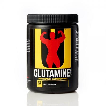 Universal Glutamine, 100 капсул