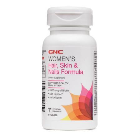 GNC Womens Hair, Skin & Nails Formula, 60 каплет