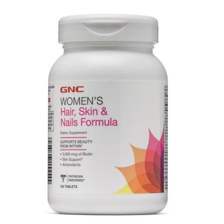 GNC Womens Hair, Skin & Nails Formula, 120 каплет