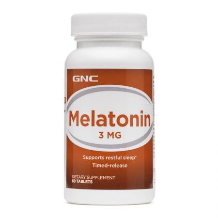 GNC Melatonin 3, 60 таблеток