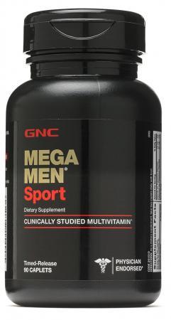 GNC Mega Men Sport, 90 каплет
