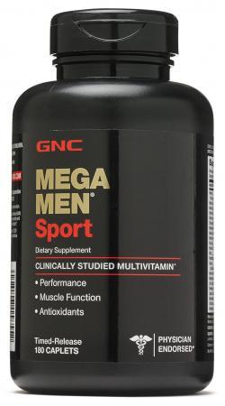 GNC Mega Men Sport, 180 каплет