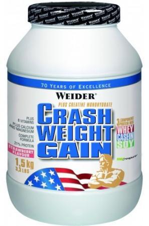Weider Crash Weight Gain 1.5 кг