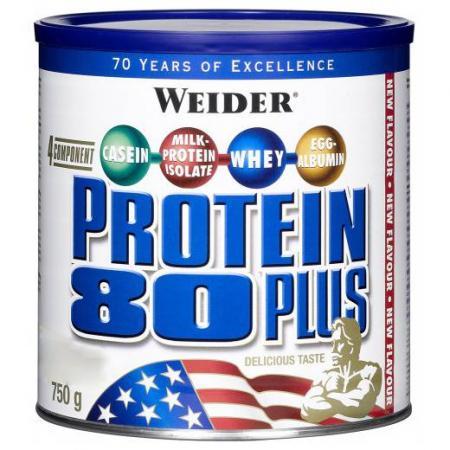Weider Protein 80 Plus, 750 грамм