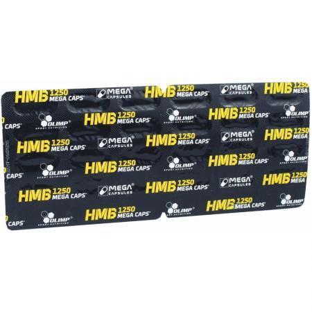 Olimp HMB 1250 Mega Caps, 30 капсул