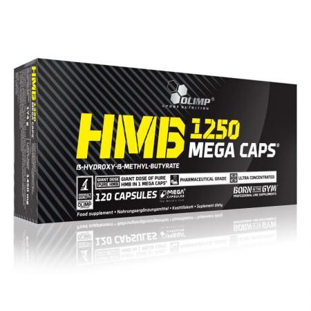 Olimp HMB 1250 Mega Caps, 120капсул