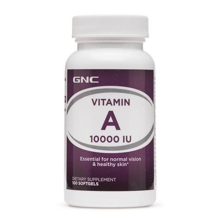 GNC Vitamin A 10000 UI, 100 капсул