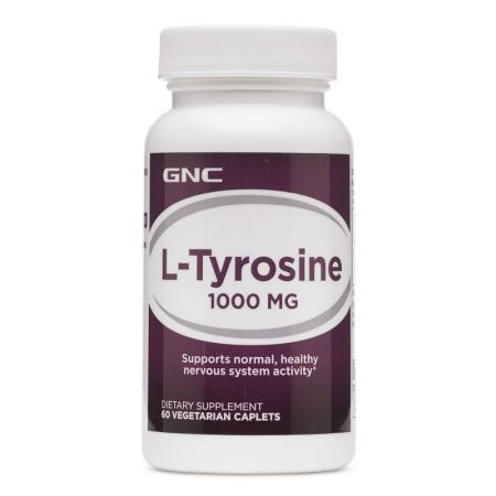 GNC L-Tyrosine 1000, 60 каплет