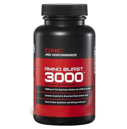 GNC Amino Burst 3000, 180 таблеток