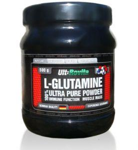 Ult:Rovita L-Glutamine Powder, 500 грамм - без вкуса