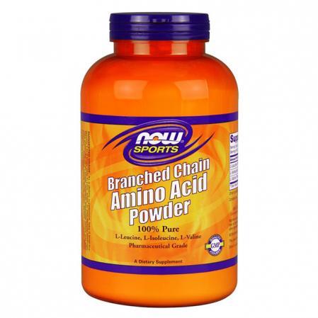 NOW Branched Chain Amino Acids Powder, 340 грамм