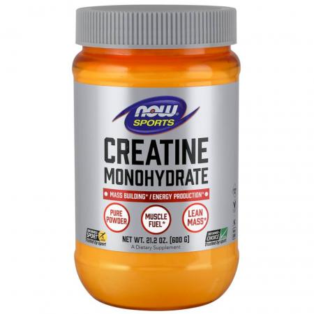 NOW Creatine Monohydrate, 600 грамм